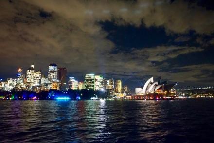 Vivid Sydney light show