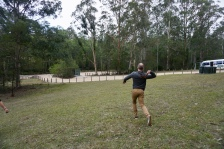 We learned how to throw a boomerang!