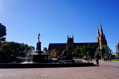 Hyde Park in central Sydney