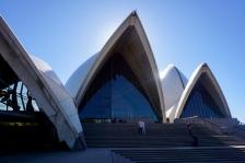 Wandering around central Sydney